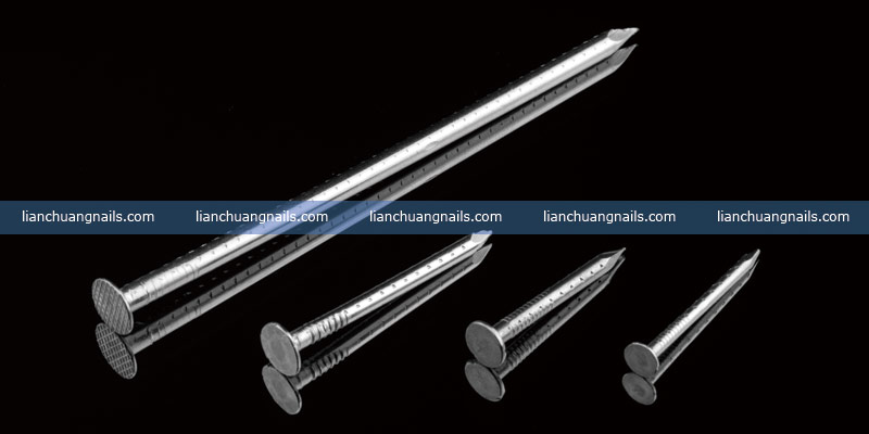 Stainless steel four hollow shank / Jagged Shank  nail